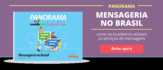 Mensageria: as últimas novidades sobre o comportamento do consumidor brasileiro