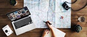 Modelo de questionário de pesquisa: pesquisa sobre viagens