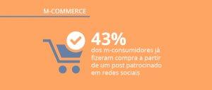 Pesquisa sobre o comportamento de compra do consumidor mobile