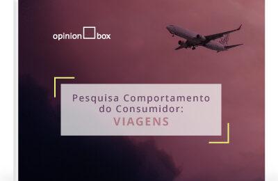 Infográfico Comportamento do Consumidor – Viagens