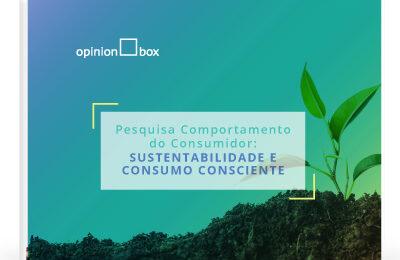 Infográfico Comportamento do Consumidor – Sustentabilidade e consumo consciente