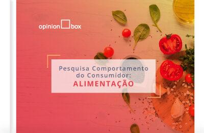 Infográfico Comportamento do Consumidor – Alimentação