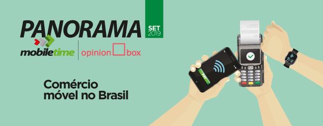 Comércio móvel no Brasil: nona edição do Panorama Mobile Time/Opinion Box