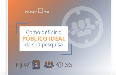 Infográfico para definir o público ideal de pesquisas de mercado