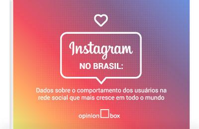 Infográfico Instagram no Brasil