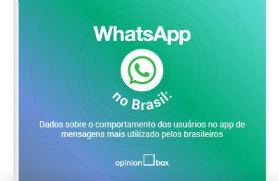 Infográfico WhatsApp no Brasil