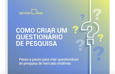 Infográfico – Questionário de Pesquisa