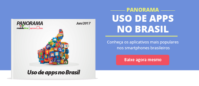Uso de apps no Brasil: pesquisa Opinion Box e Mobile Time